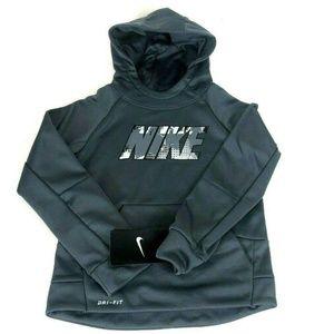 Nike Boys Therma Fit Print Pullover Hoodie